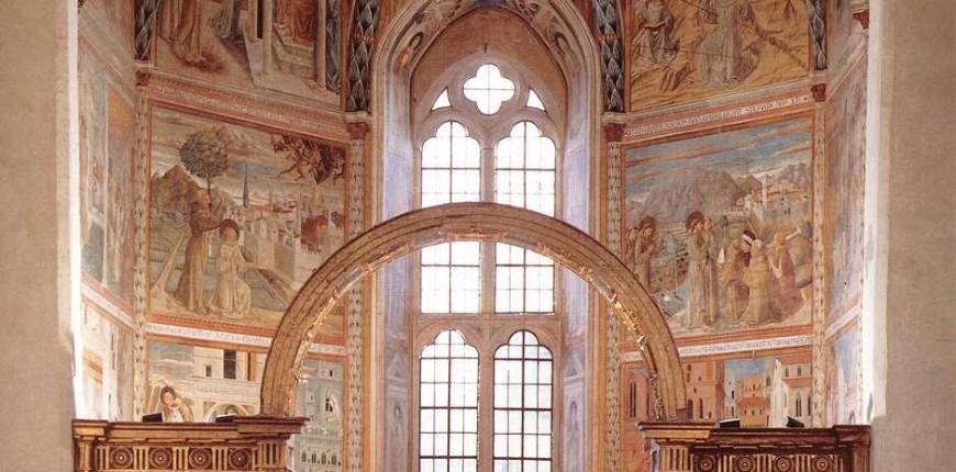 Chiesa di San Francesco, Montefalco - Pureio